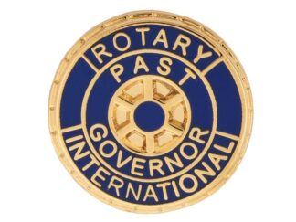 Rotary Past Governor Pin