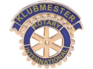 DK: Rotary Klubmester Enamel Pin