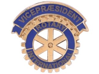 Rotary Vicepræsident Enamel Pin