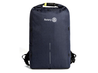 Theft-proof Backpack with Rotary Logo