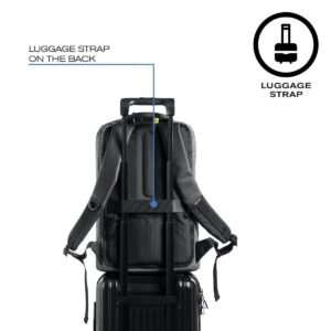 Theft-proof Backpack with Rotary Logo and Luggage Strap