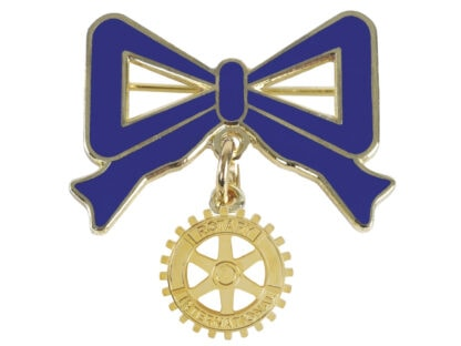 Bow with Rotary Emblem