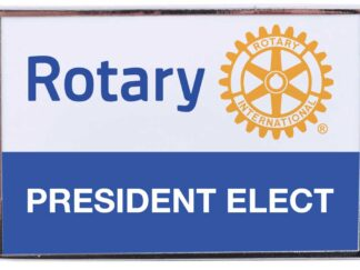President elect pin RI7016