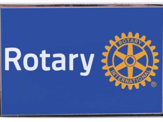 Rotary pin blue RI7024