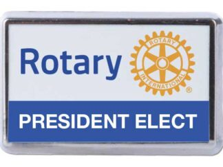President elect pin 20 x 12 mm RI7015