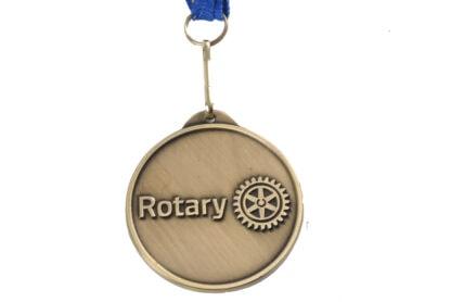 Tha Back of Rotary Paul Harris Medal RI2000