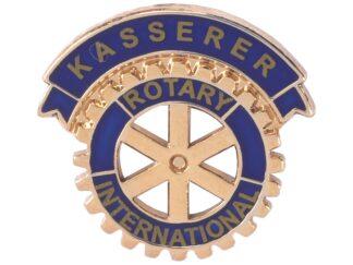 DK: Rotary Kasserer Enamel Pin