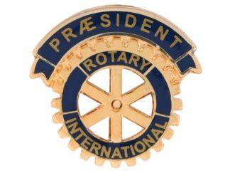 DK: Rotary Præsident Enamel Pin